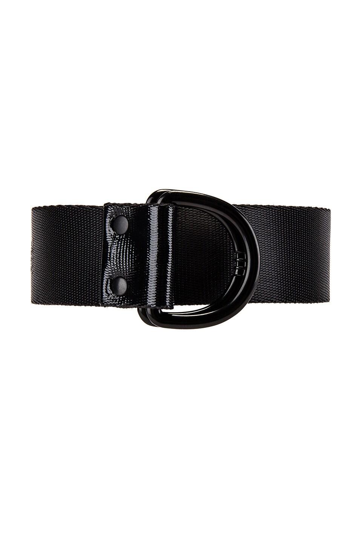 Y-3 Yohji Yamamoto Hook Belt in Black