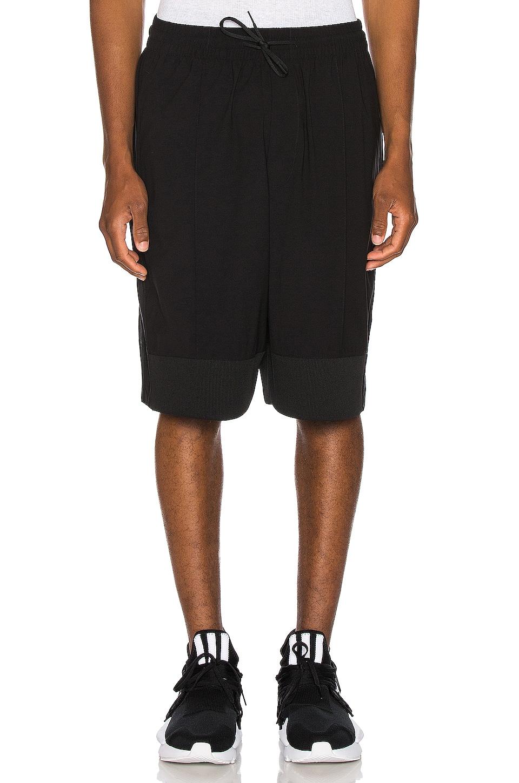 Y-3 Yohji Yamamoto Mix Shorts in Black
