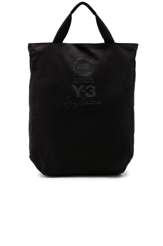 d2a62ff09 Y-3 Yohji Yamamoto Tote Bag in Black