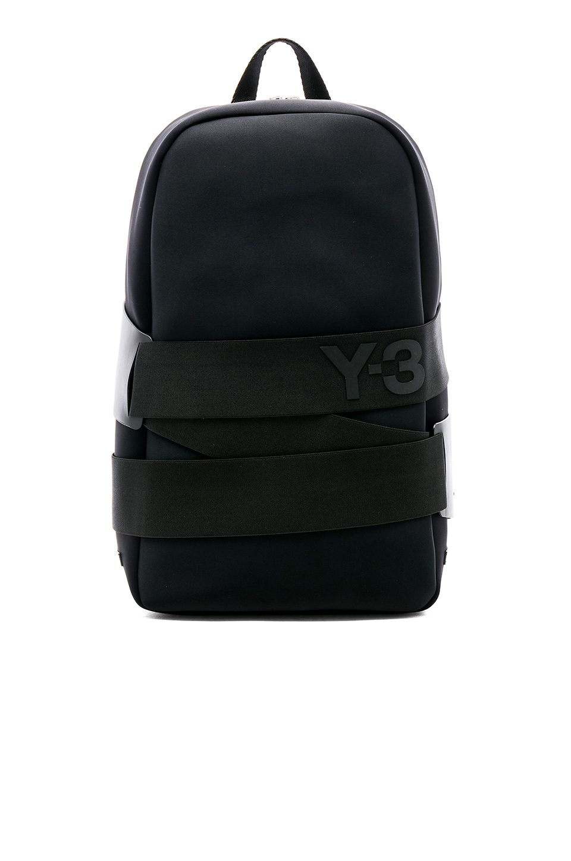 Y-3 Yohji Yamamoto QRush Backpack in Black  9efec5a42a477