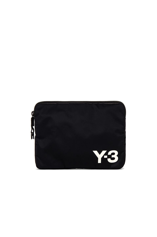 Y-3 Yohji Yamamoto Pouch en Black