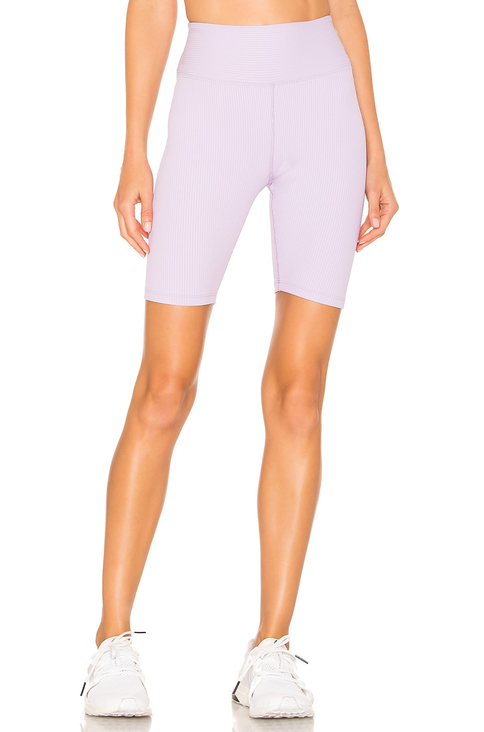 YEAR OF OURS X REVOLVE Ribbed Biker Short in Lilac