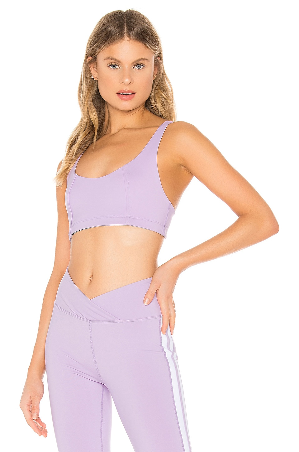 YEAR OF OURS YOS Sport Bra in Lilac