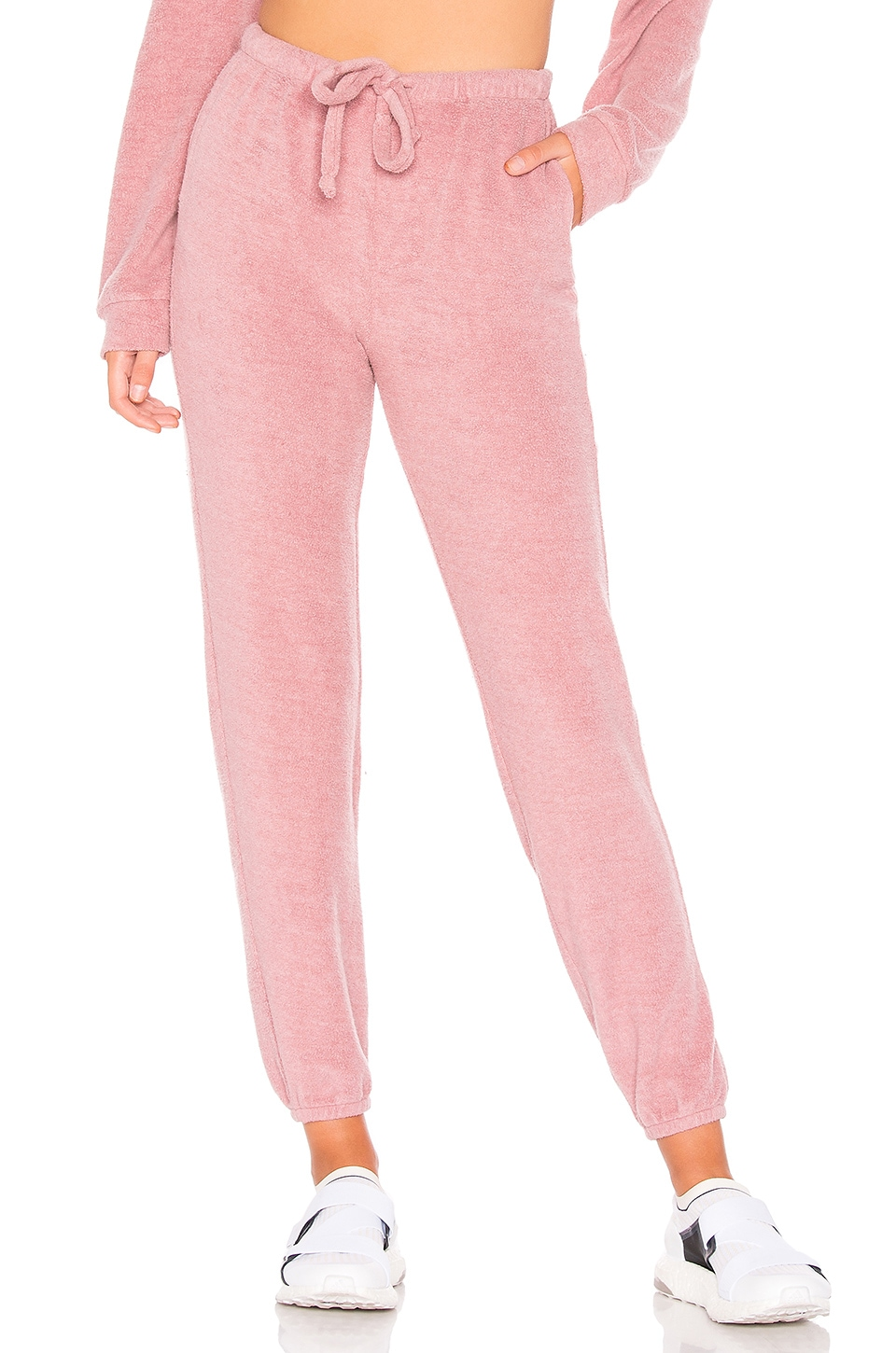 YEAR OF OURS Boyfriend Pant in Mauve