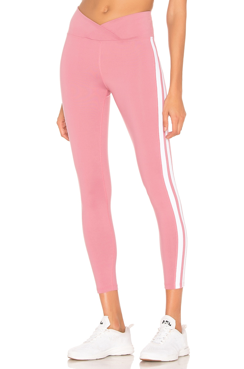YEAR OF OURS X REVOLVE Track Legging in Rose & White