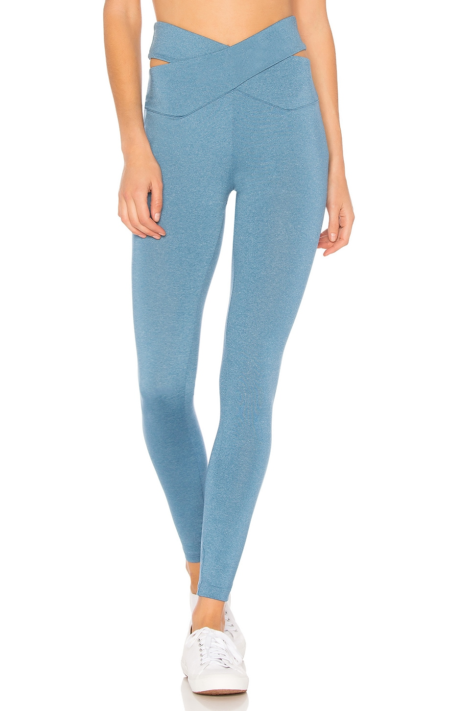 YEAR OF OURS CROSSED CUT OUT WAIST LEGGING