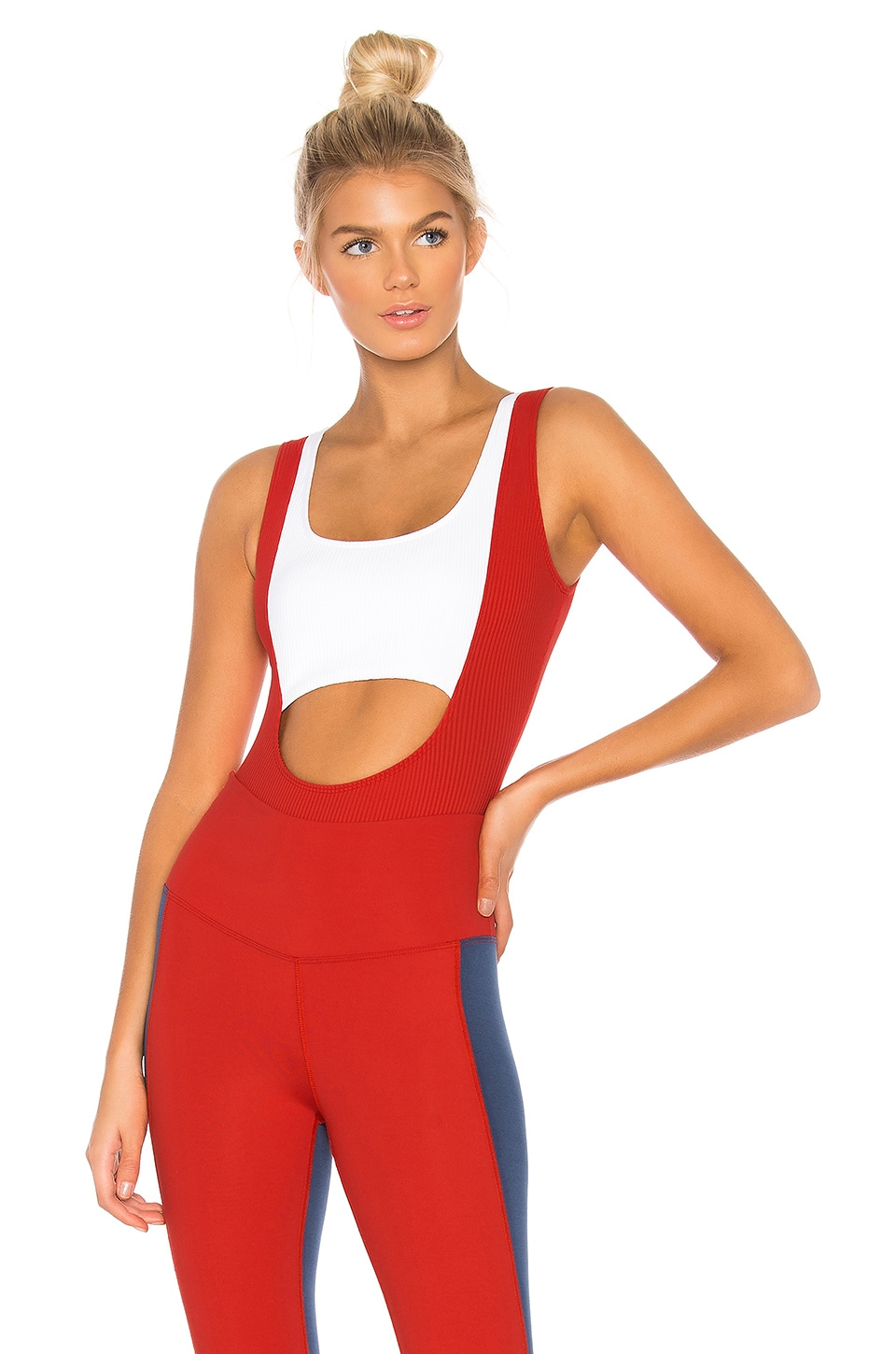 Two Tone Body Suit