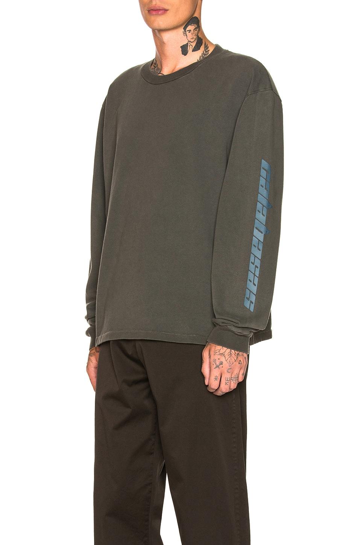 b326132c1 YEEZY Season 6 Calabasas Long Sleeve T Shirt in Core   Indigo