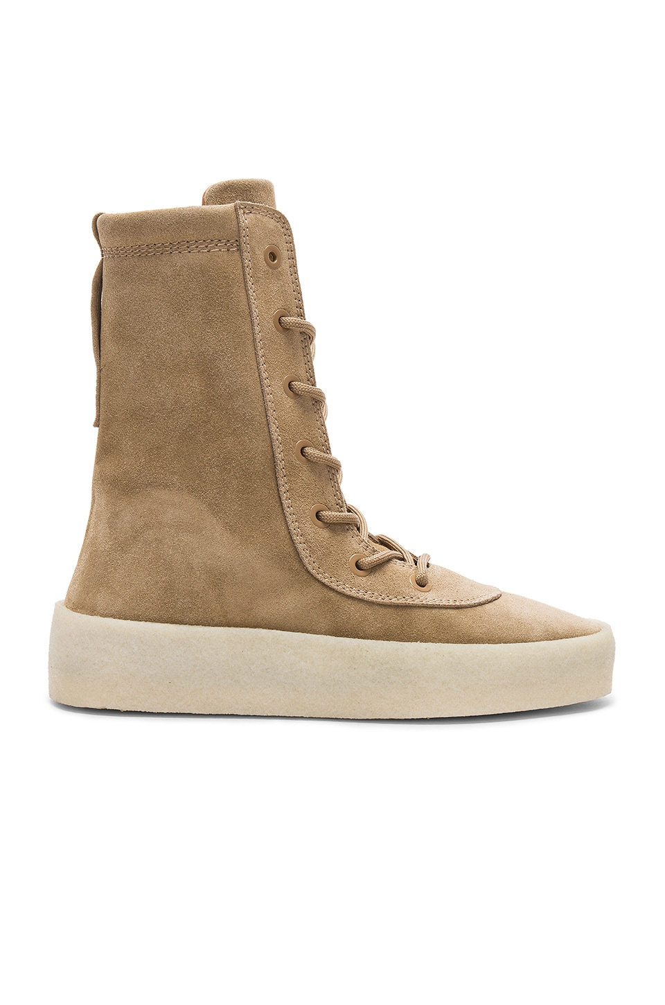 d0519009089 YEEZY Season 4 Crepe Boot in Taupe