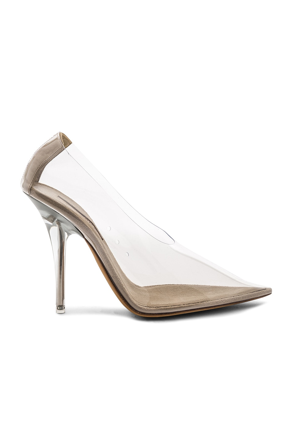 YEEZY Season 5 PVC Pump in Clear