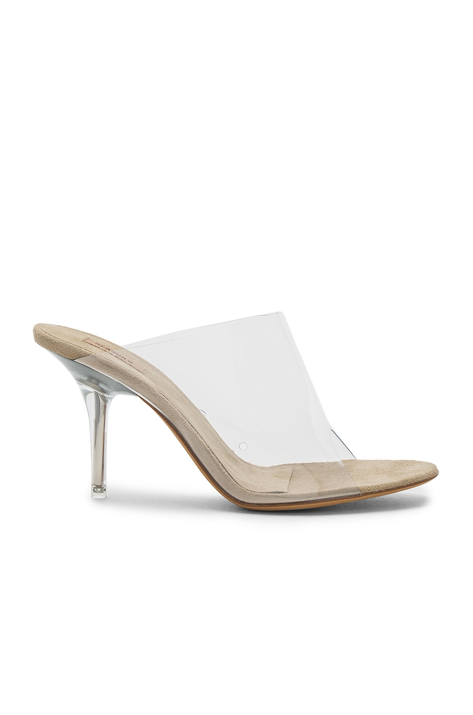 YEEZY Season 6 Mule Heel in Clear