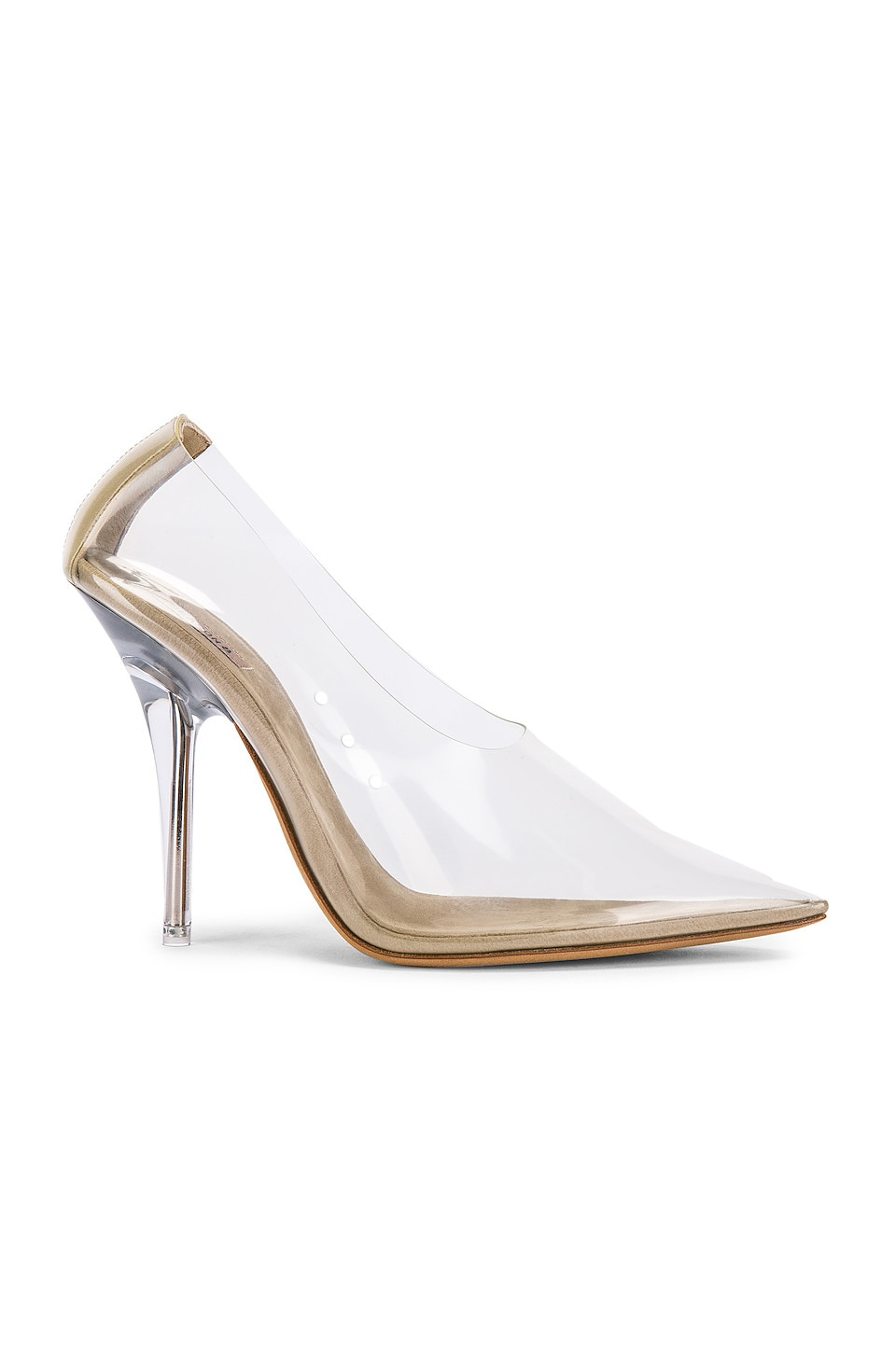 YEEZY SEASON 8 PVC Pump in Clear
