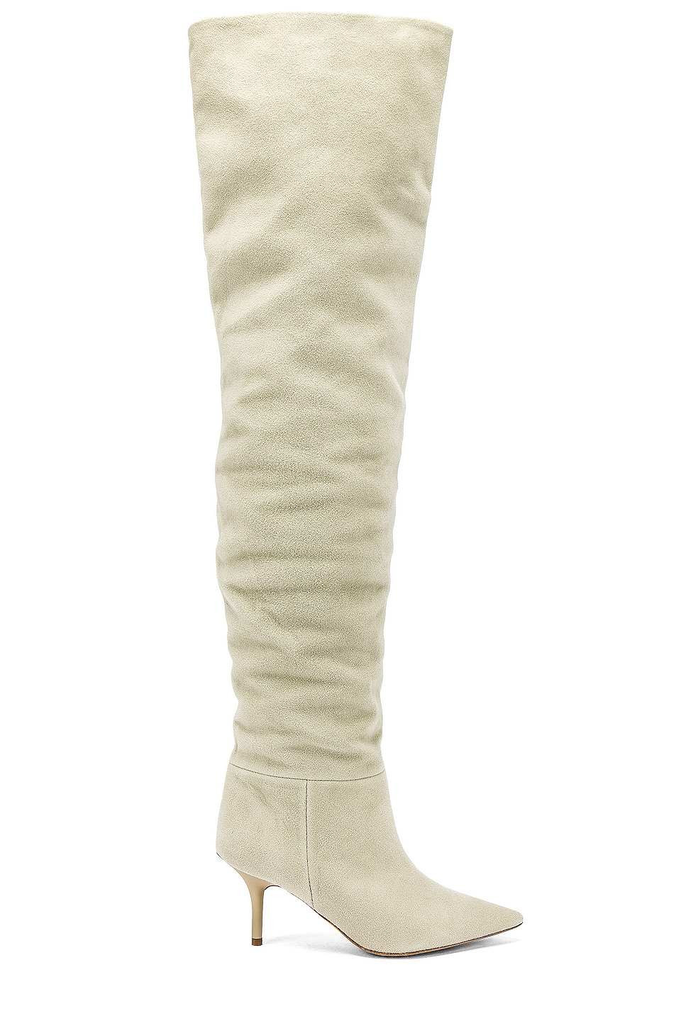 YEEZY SEASON 8 Thigh High Boot in Ghost