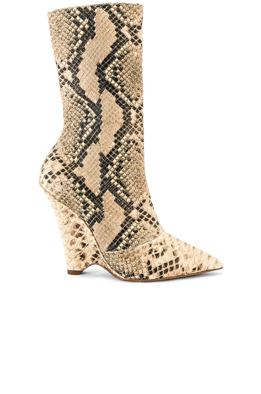 YEEZY SEASON 8 Python Wedge Ankle Boot