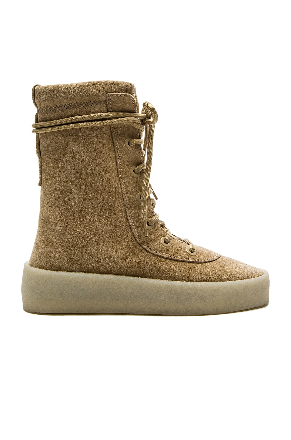 128378384cf88 YEEZY Season 2 Crepe Boot in Taupe