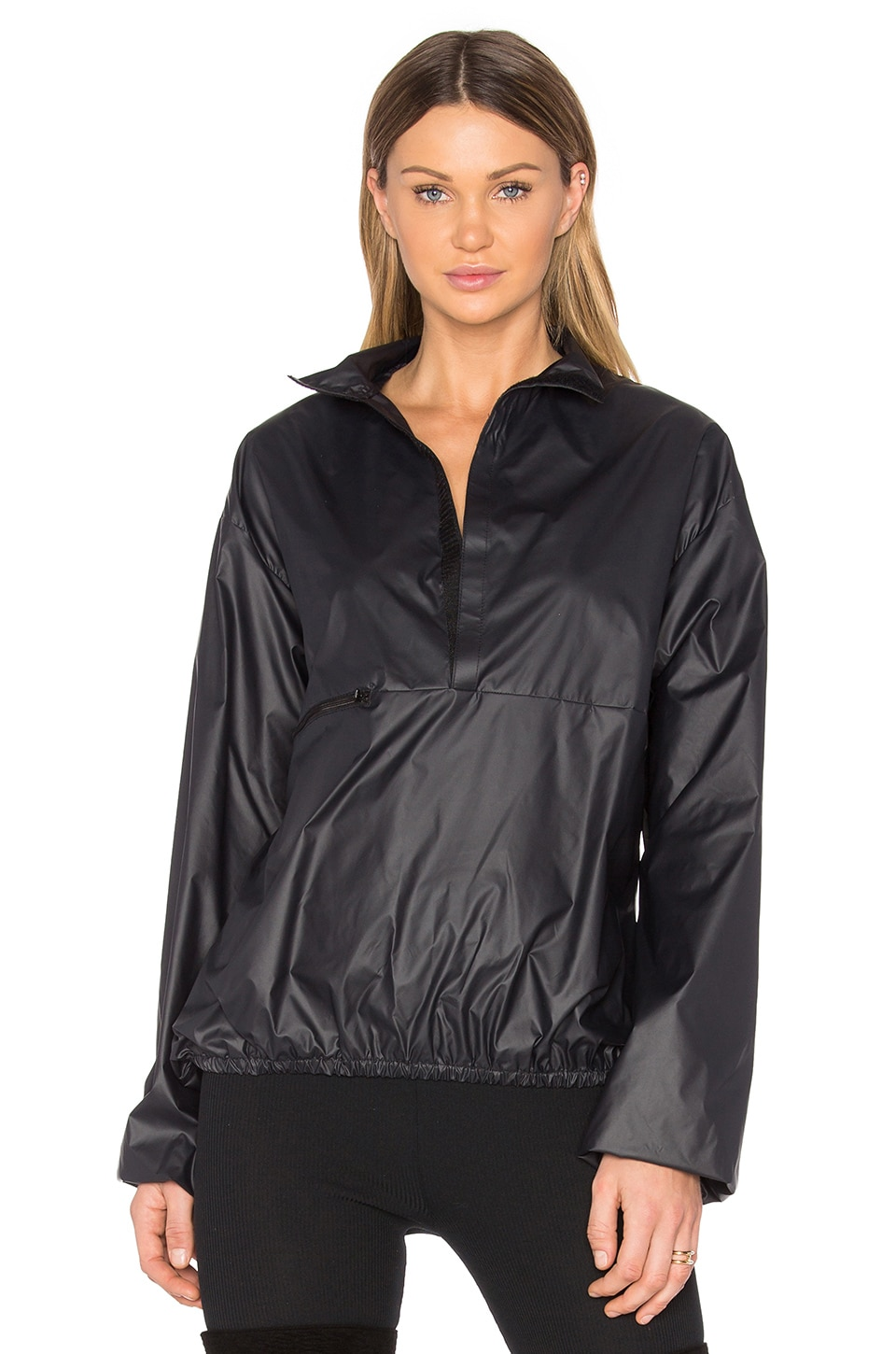 YEEZY Season 3 Nylon Packable Windbreaker Jacket in True Onyx ...