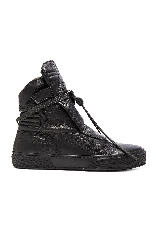 YLATI: NERO Giove Hi W en Black Leather
