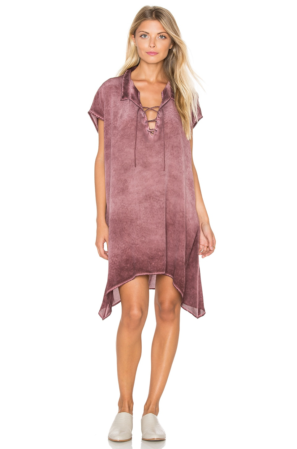 Laced Collar Dress by YORK street