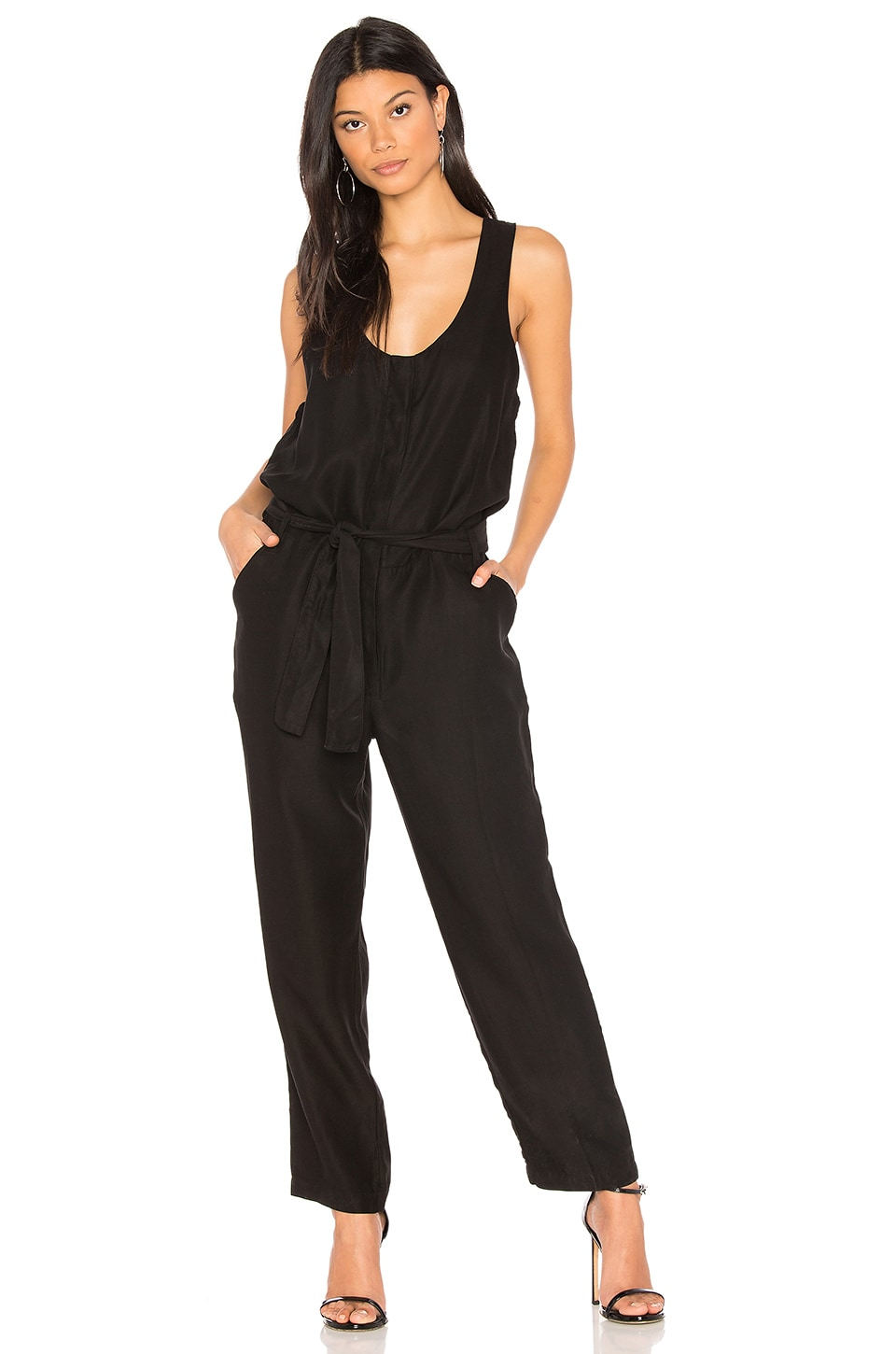 YORK street Utility Jumpsuit in Black