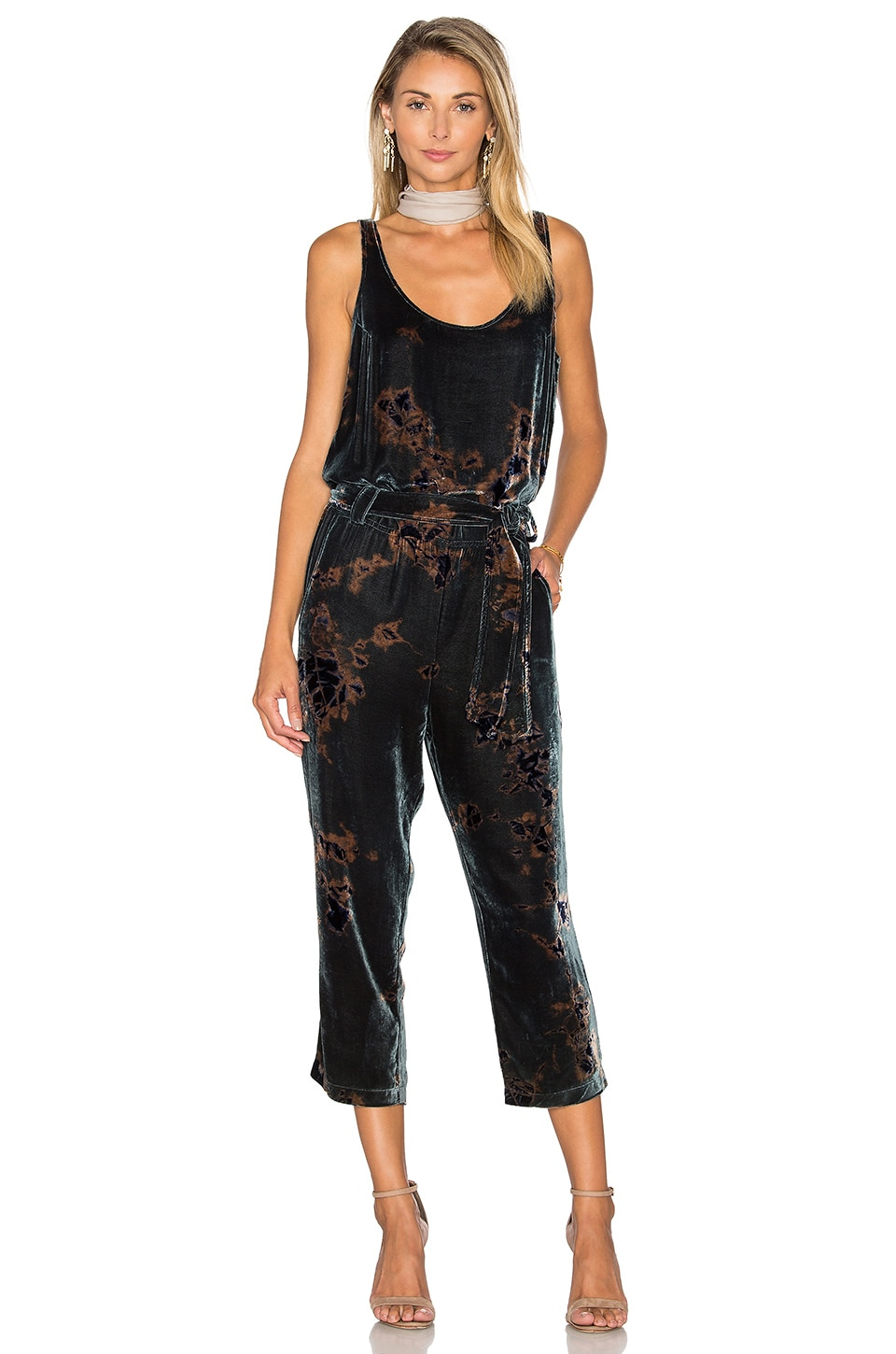 Cropped Jumpsuit by York Street