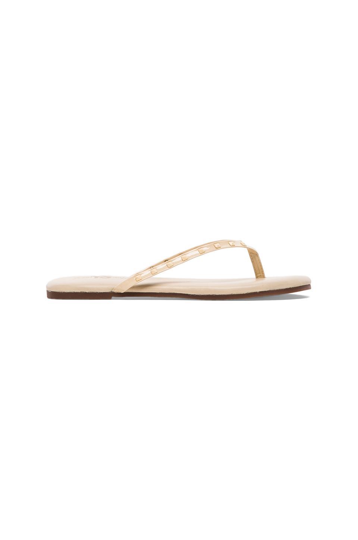 Yosi Samra Rosee Soft Sandal in Biscotti