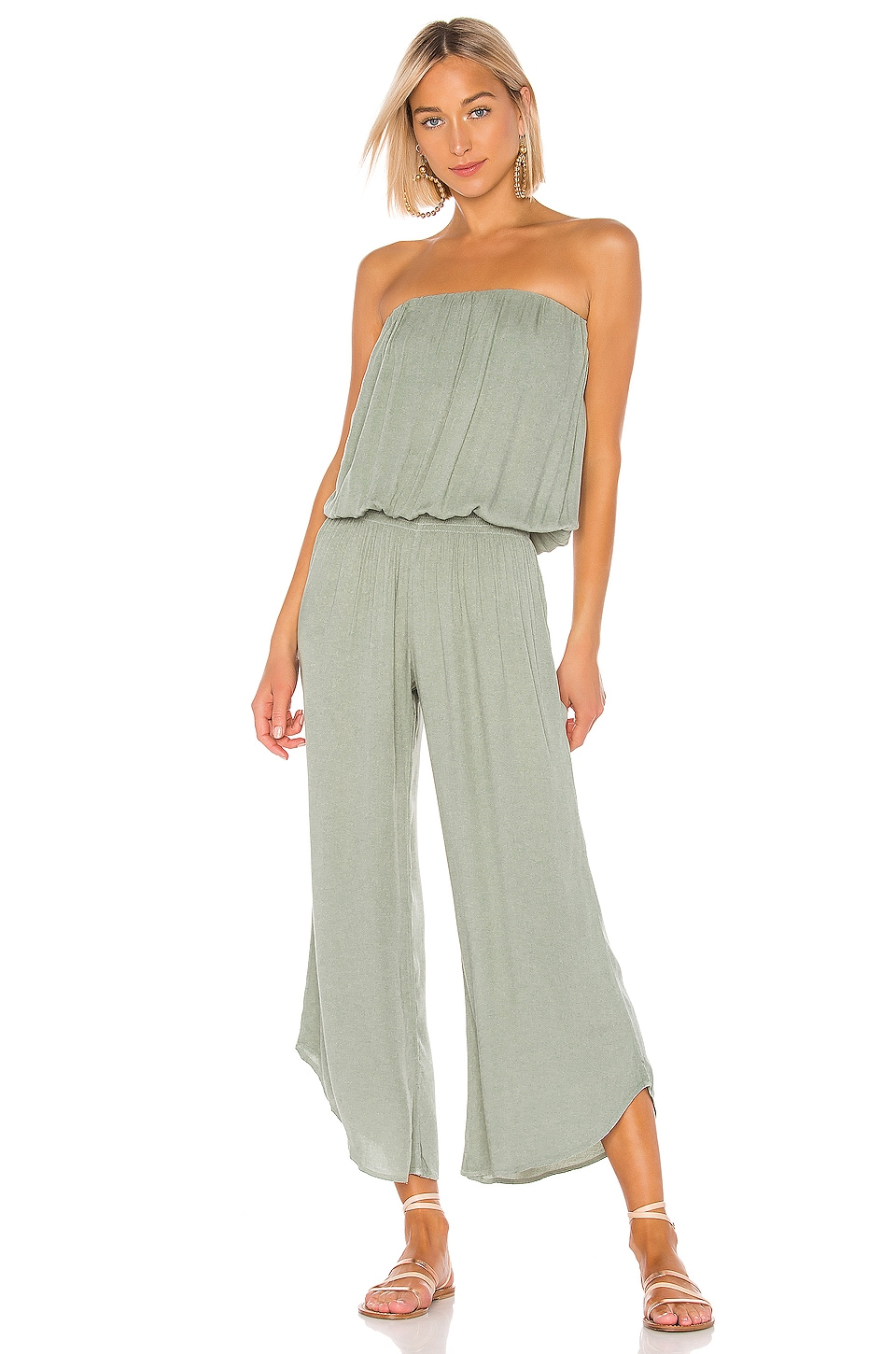 Young, Fabulous & Broke Aviana Jumpsuit in Sage