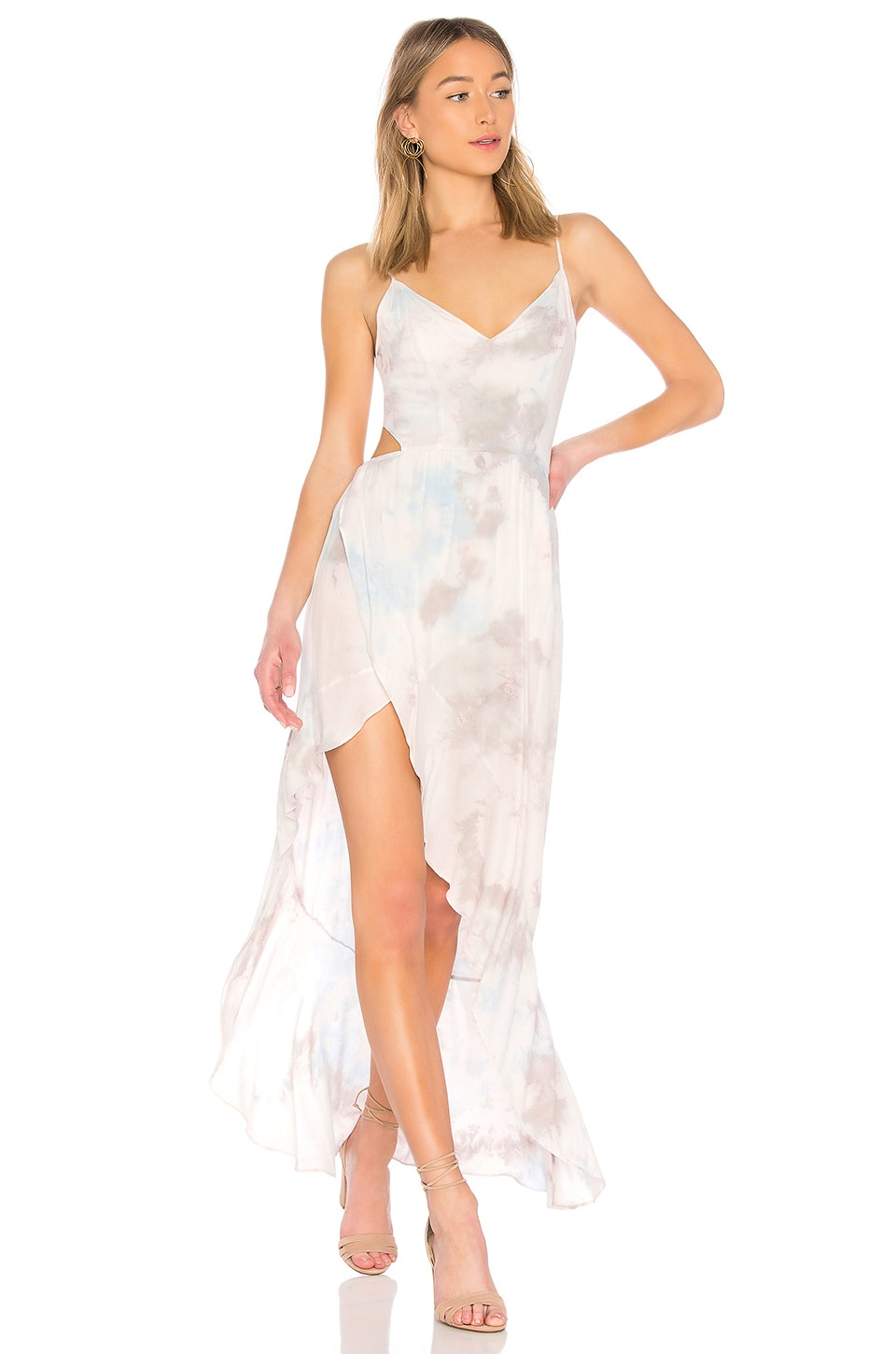 Young, Fabulous & Broke Paradise Dress in Petal Popsicle Wash