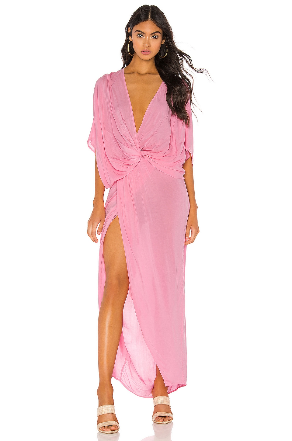 Young, Fabulous & Broke Luelle Dress in Hot Pink