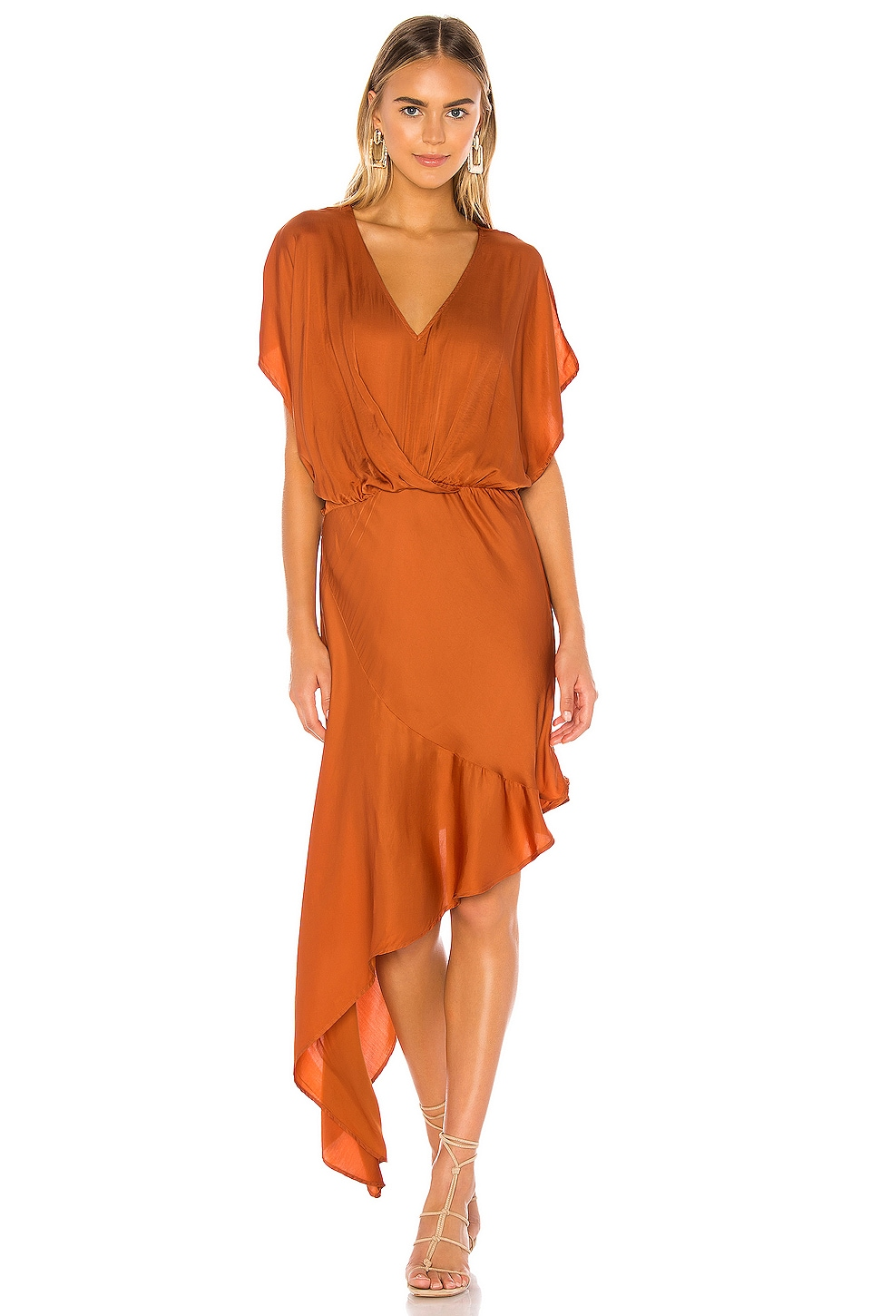 Young, Fabulous & Broke X REVOLVE Theia Dress in Copper