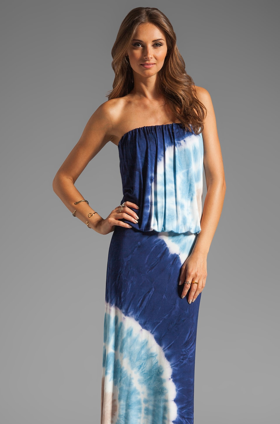 Young, Fabulous & Broke Sydney Maxi in Navy Zion Wash