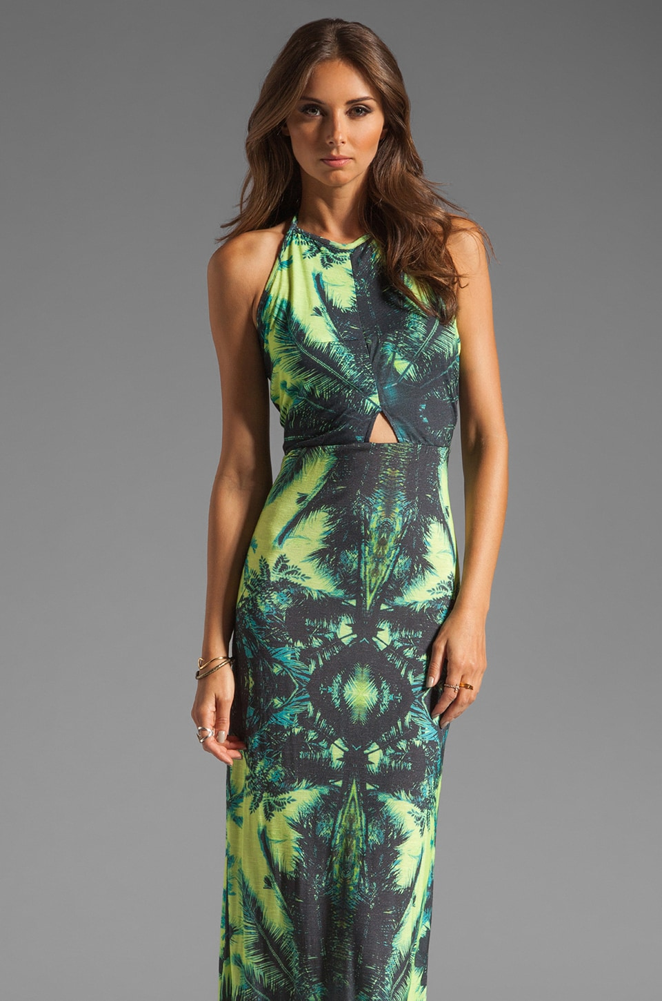 Young, Fabulous & Broke Isla Maxi in Palm Print