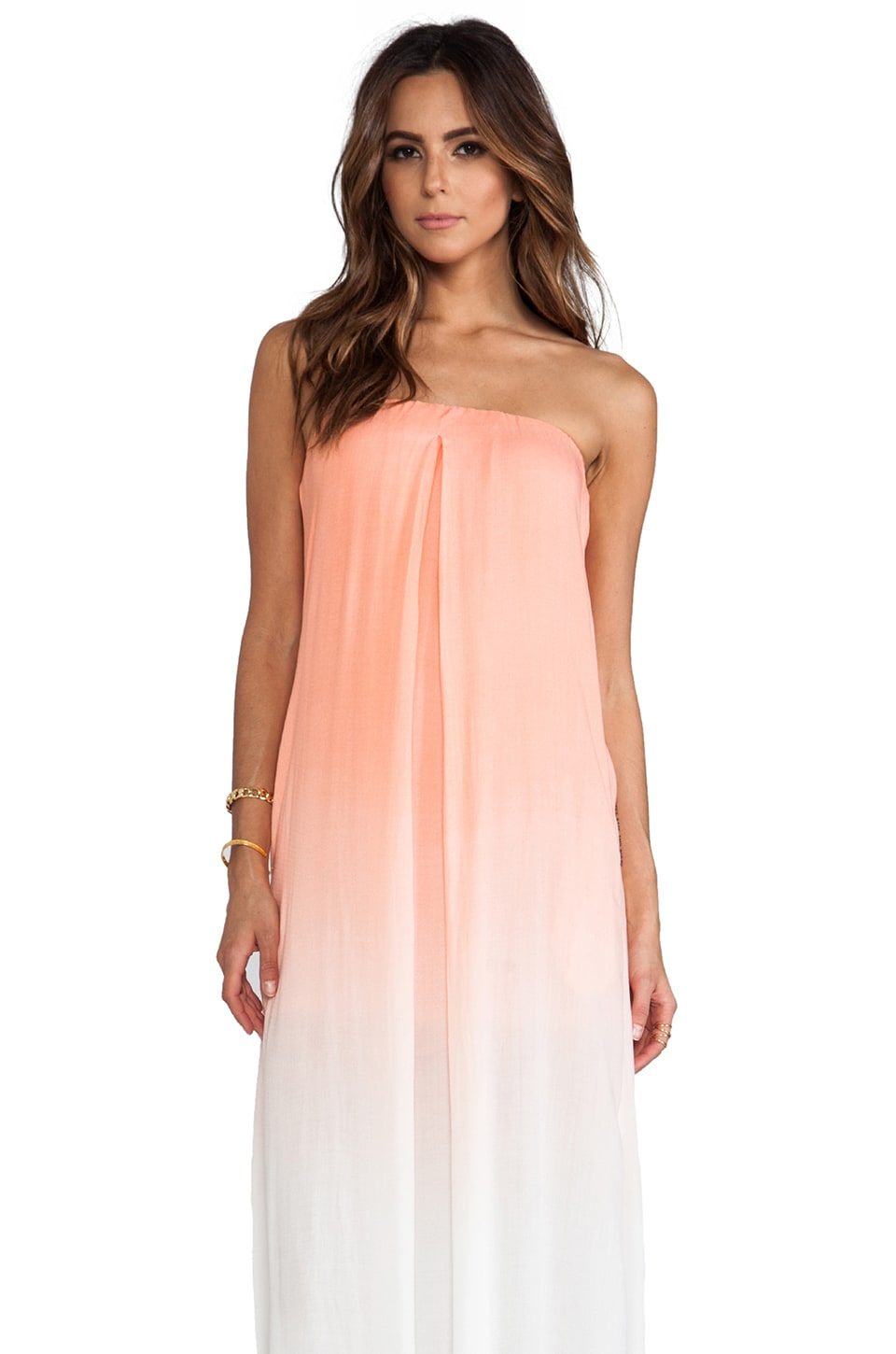 Young, Fabulous & Broke Karissa Dress in Mango Ombre