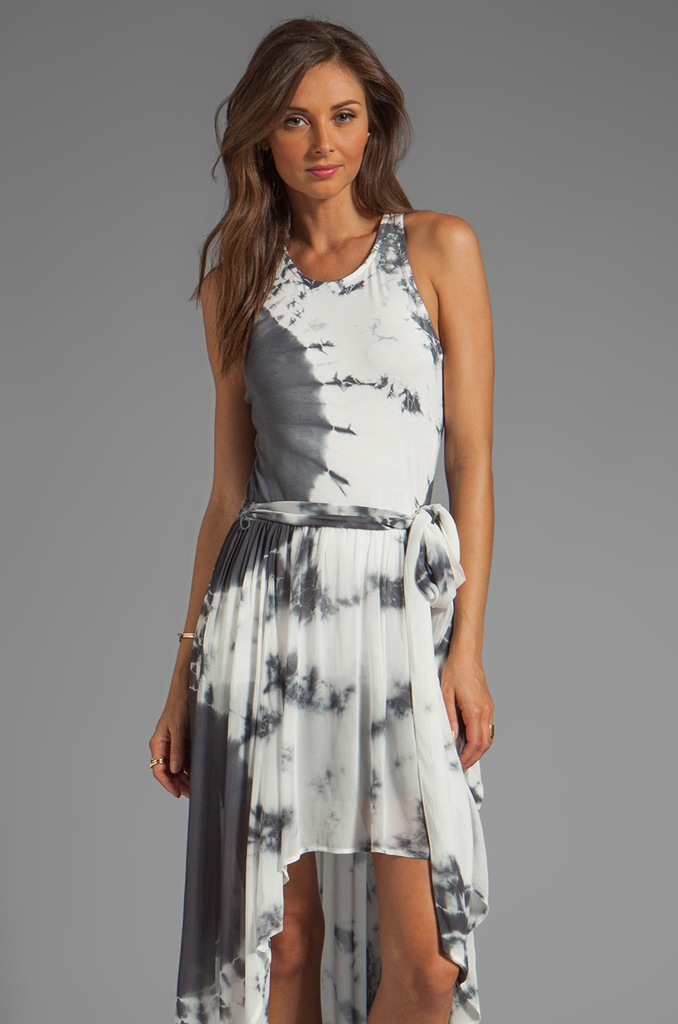 Young, Fabulous & Broke Kula Eclipse Wash Maxi in Grey