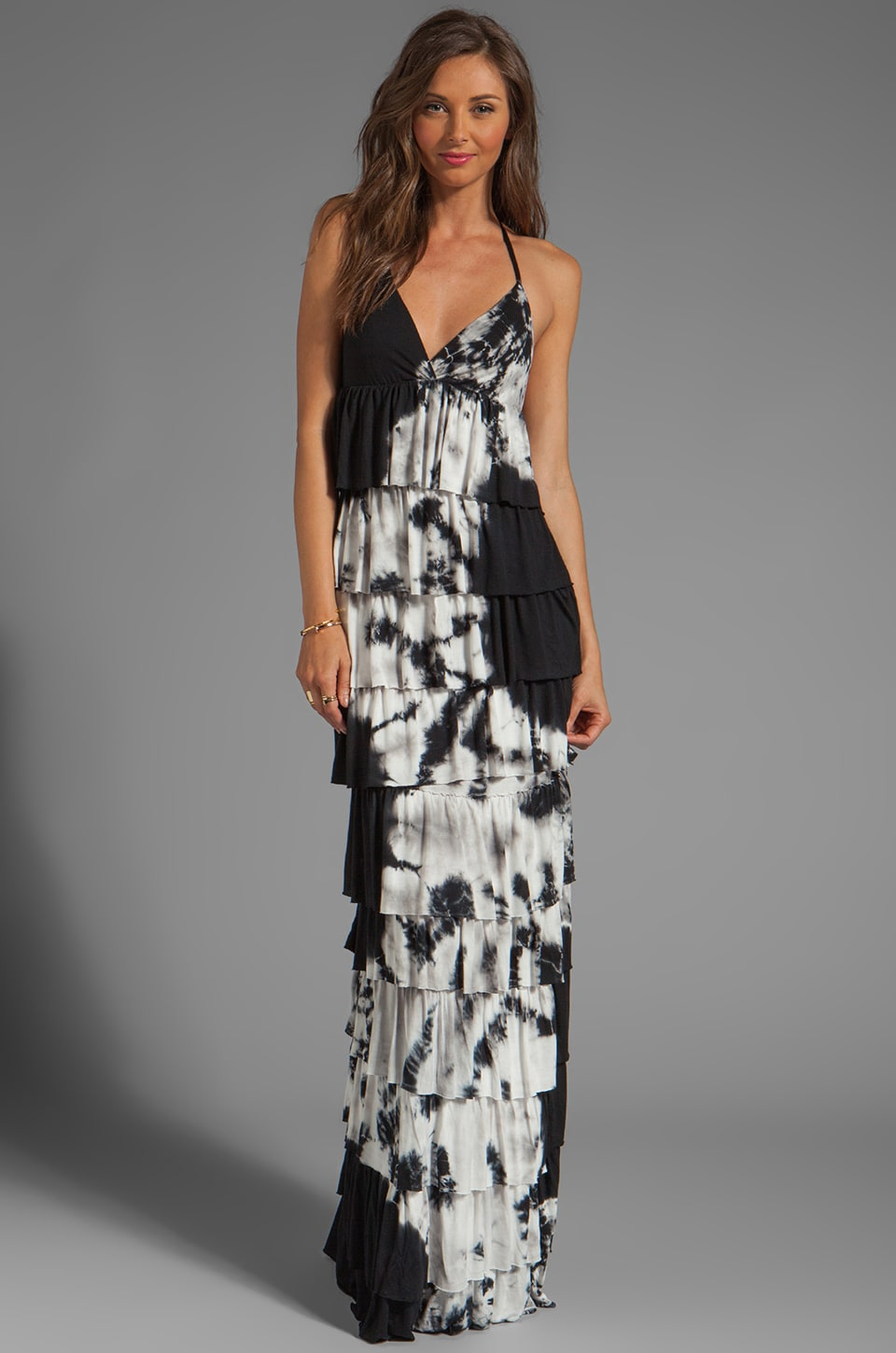Young, Fabulous & Broke Elana Eclipse Wash Maxi in Black