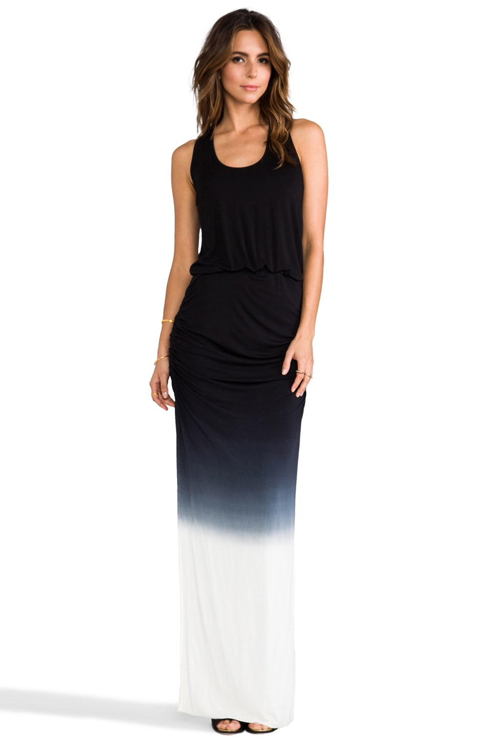 Young, Fabulous & Broke Mel Ombre Maxi in Black