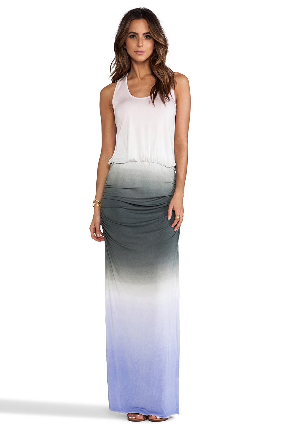 Young, Fabulous & Broke Mel Ombre Maxi in Grey
