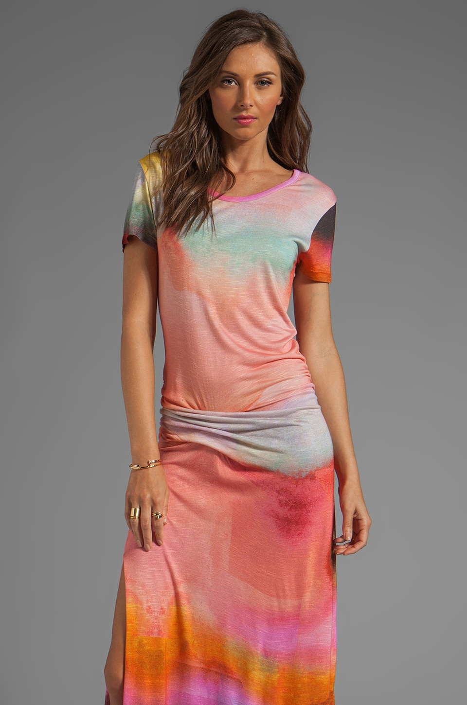 Young, Fabulous & Broke Montauk Rothko Print Maxi in Multi
