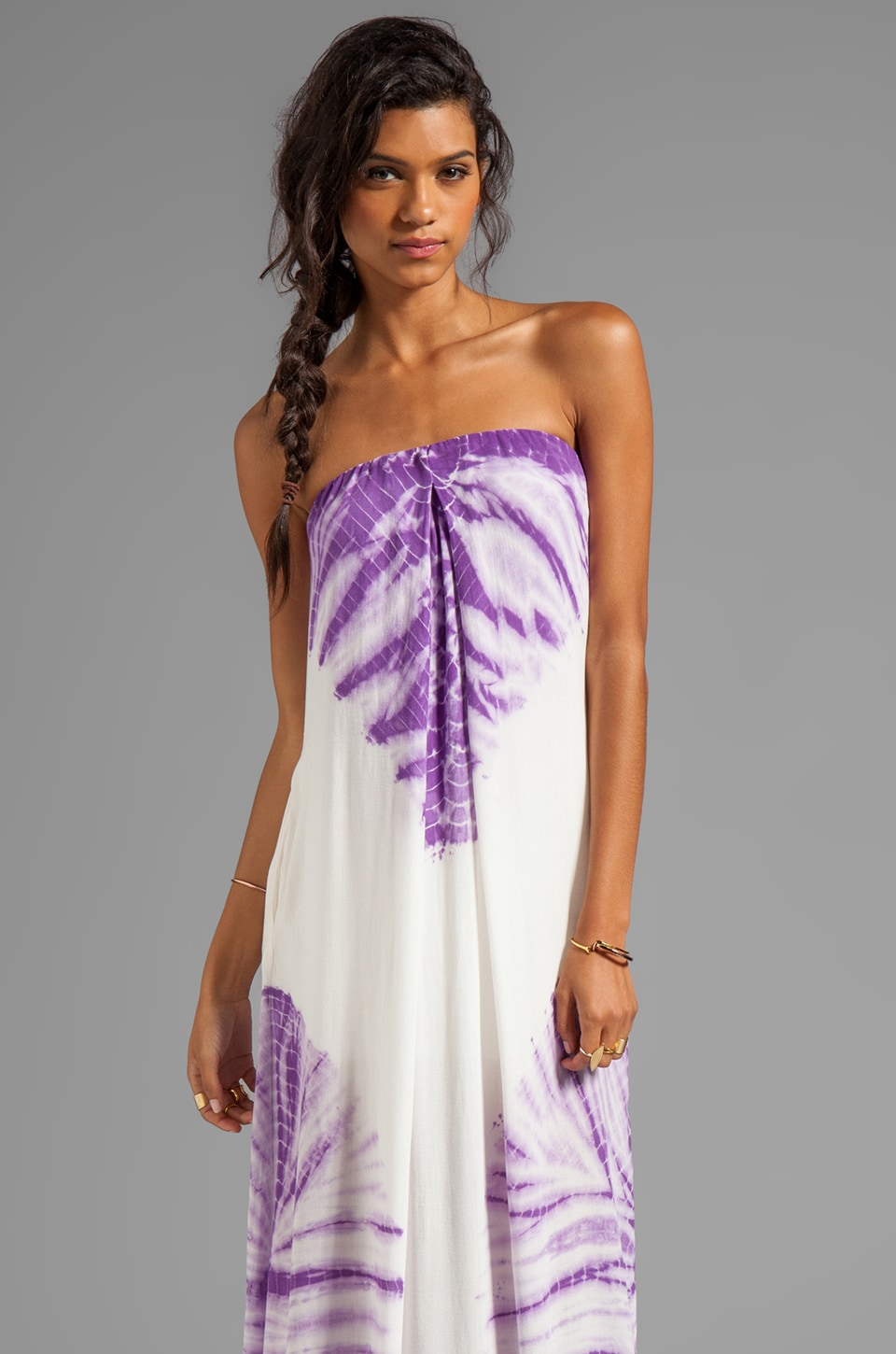Young, Fabulous & Broke Karissa Carnivale Wash Maxi in Plum