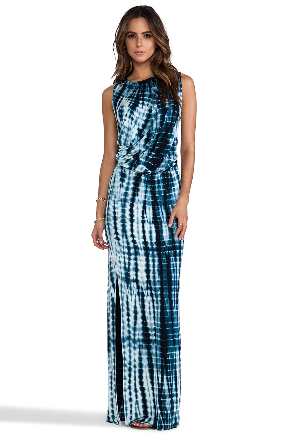 Young, Fabulous & Broke Lina Cobra Wash Maxi in Navy