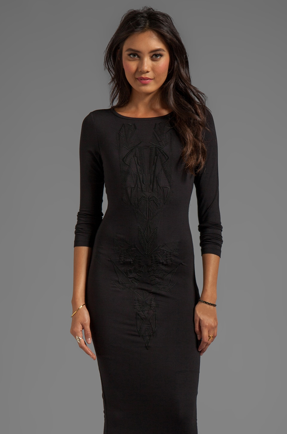 Young, Fabulous & Broke Lulu Dress in Black