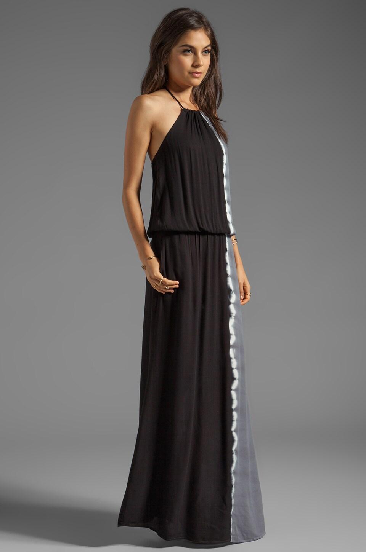 Young, Fabulous & Broke Kassandra Side Ombre Maxi in Black