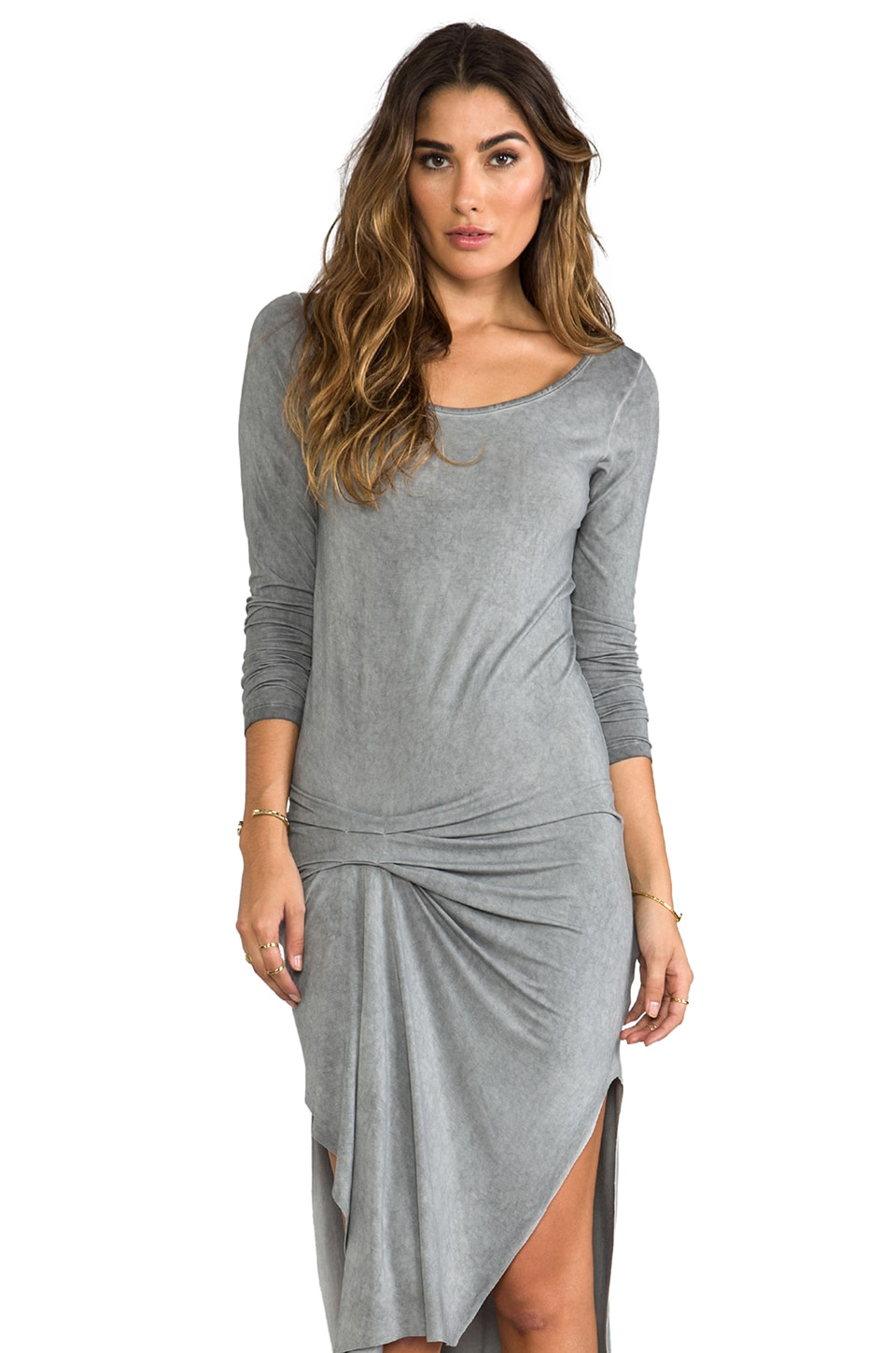 Young, Fabulous & Broke Adeline Vintage Dress in Grey