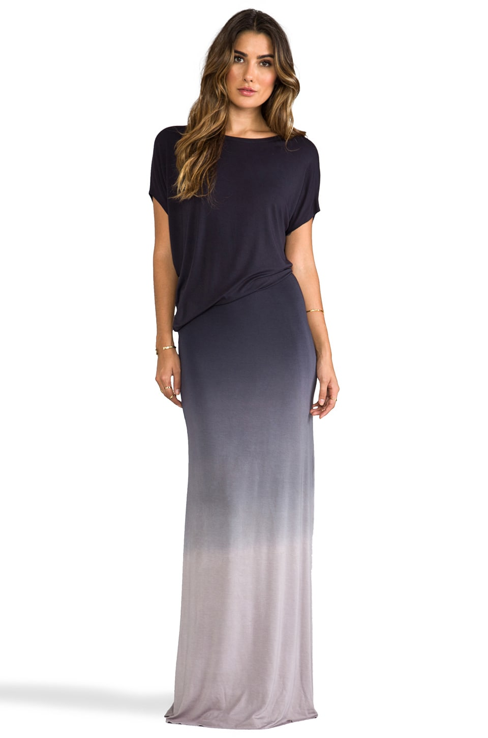 Young, Fabulous & Broke Delray Ombre Maxi in Black