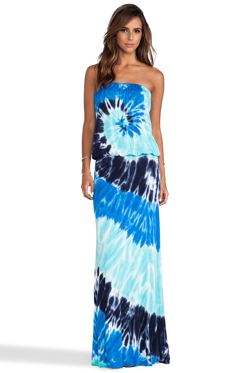 Young, Fabulous & Broke Sydney Maxi in Navy Infinity Wash