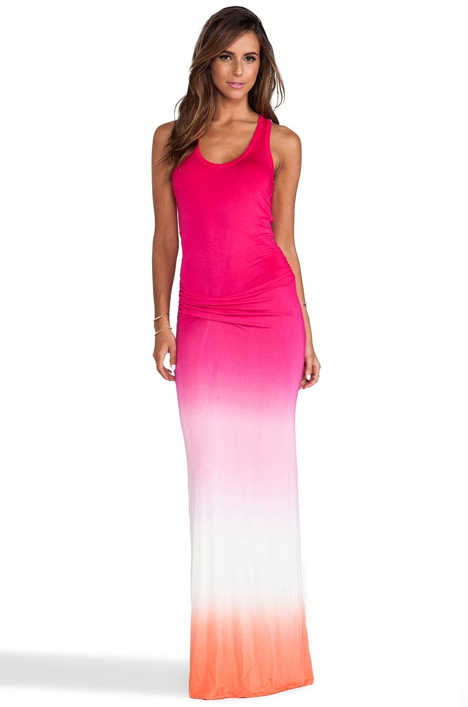 Young, Fabulous & Broke Hamptons Maxi in Fuschia Ombre