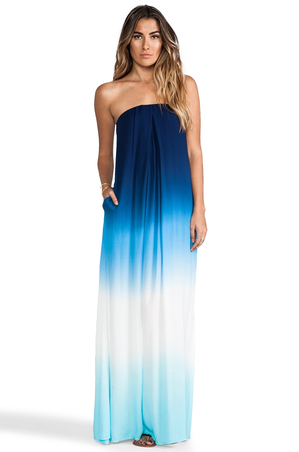 Young, Fabulous & Broke Karissa Maxi in Navy Ombre