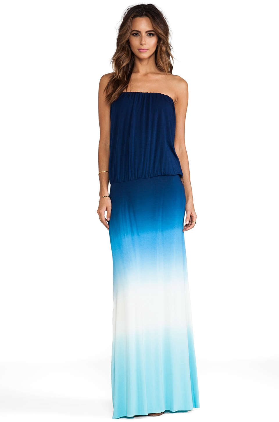 Young, Fabulous & Broke Sydney Maxi in Navy Ombre