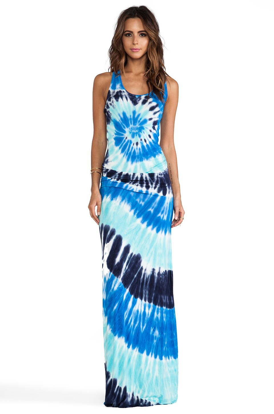 Young, Fabulous & Broke Hamptons Maxi in Navy Infinity Wash