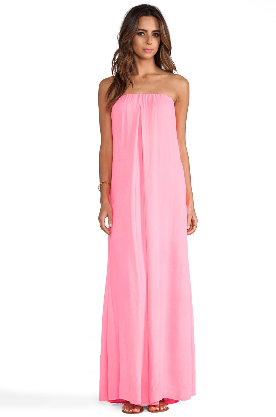 Young, Fabulous & Broke Karissa Maxi in Hot Pink