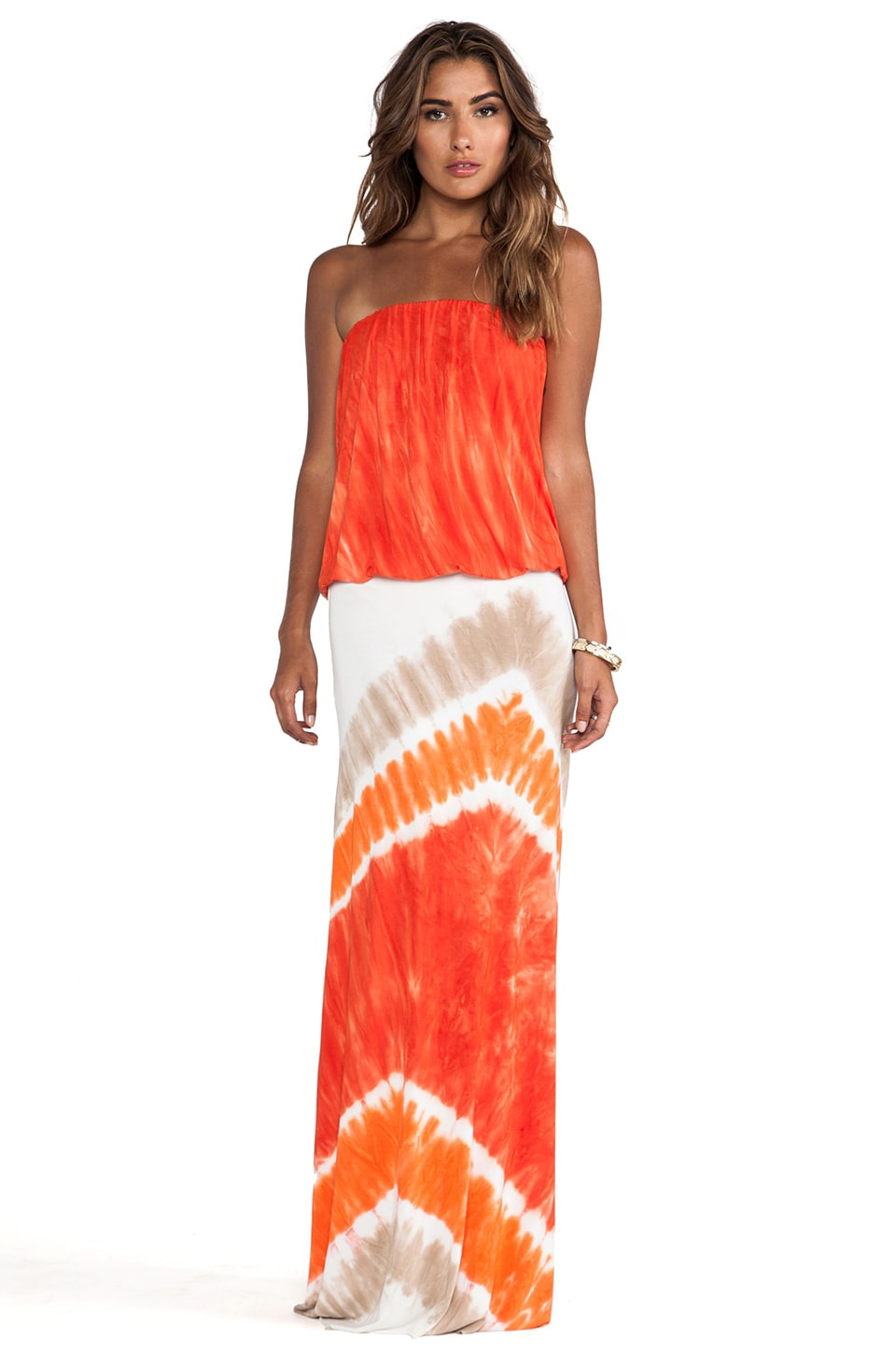Young, Fabulous & Broke Sydney Maxi in Fire Macaw Wash